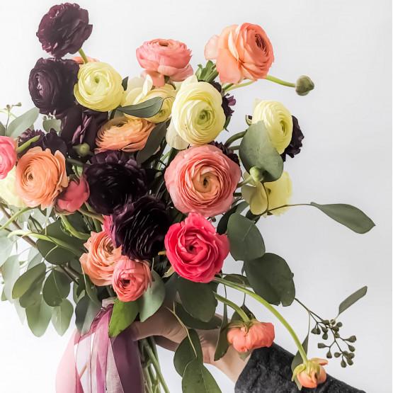 Dramatic Ranunculus Bouquet
