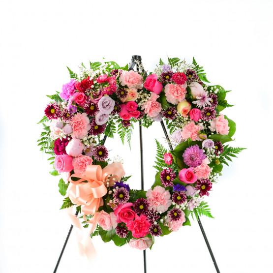 Soothing Memories Heart Wreath