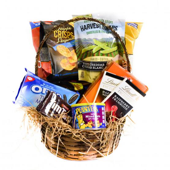 Sweet and Savoury Snacks Basket