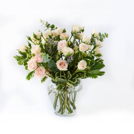 Pastel Rose Bowl