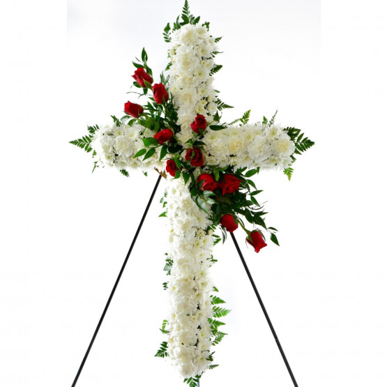 Elegant Sympathy Cross