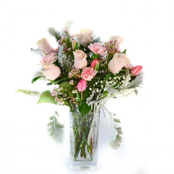 Blush & Pale Bouquet
